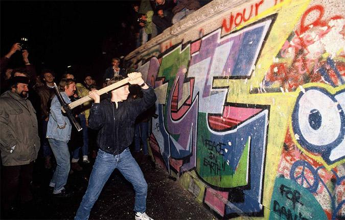 Το τείχος του Βερολίνου
