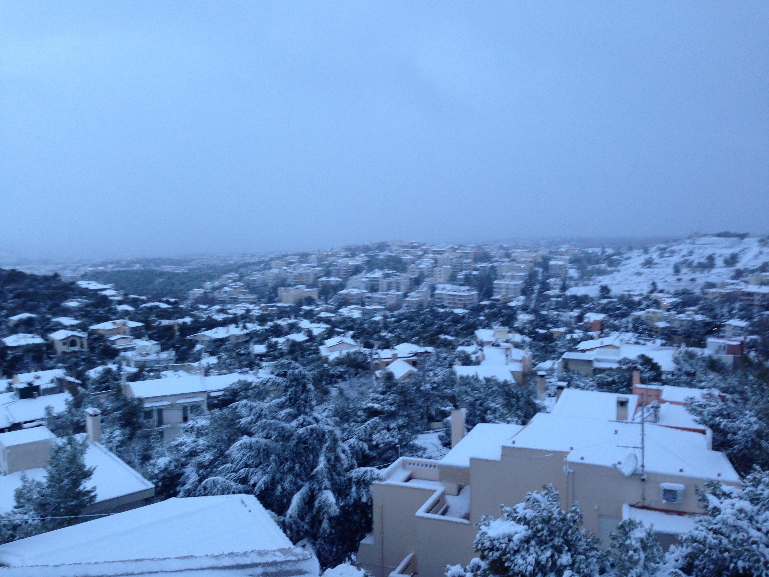 Χιόνια σήμερα