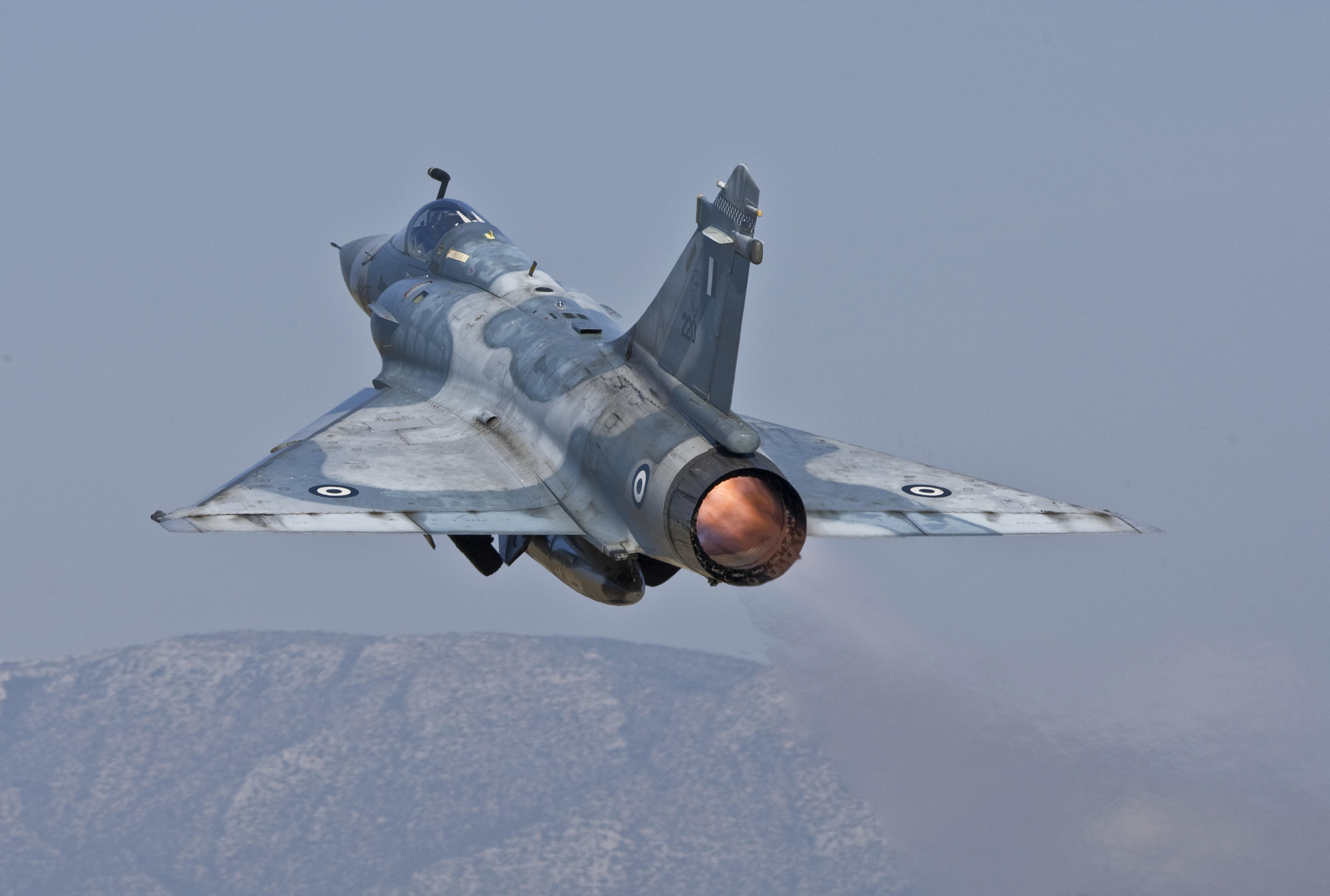 Πτώση Mirage 2000-5