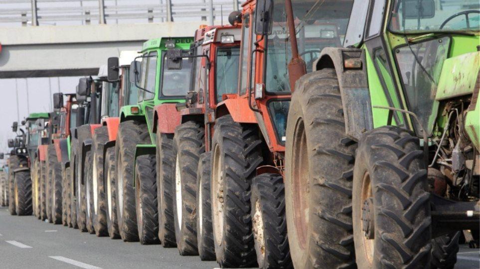 Μπλόκα αγροτών