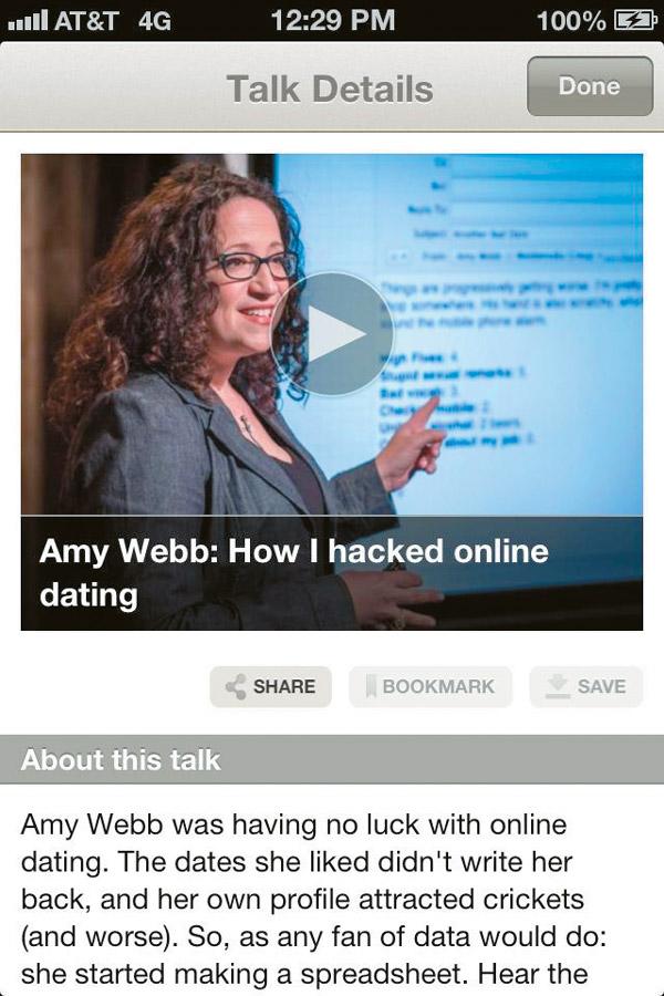 Amy Γουέμπ online dating