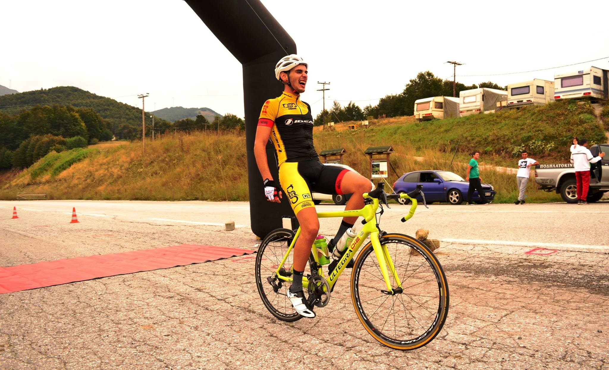 giorgos prassos 1 - Πτολεμαΐδα: Αυτοκίνητο παρέσυρε έξι ποδηλάτες - Δύο νεκροί, ένας χαροπαλεύει!