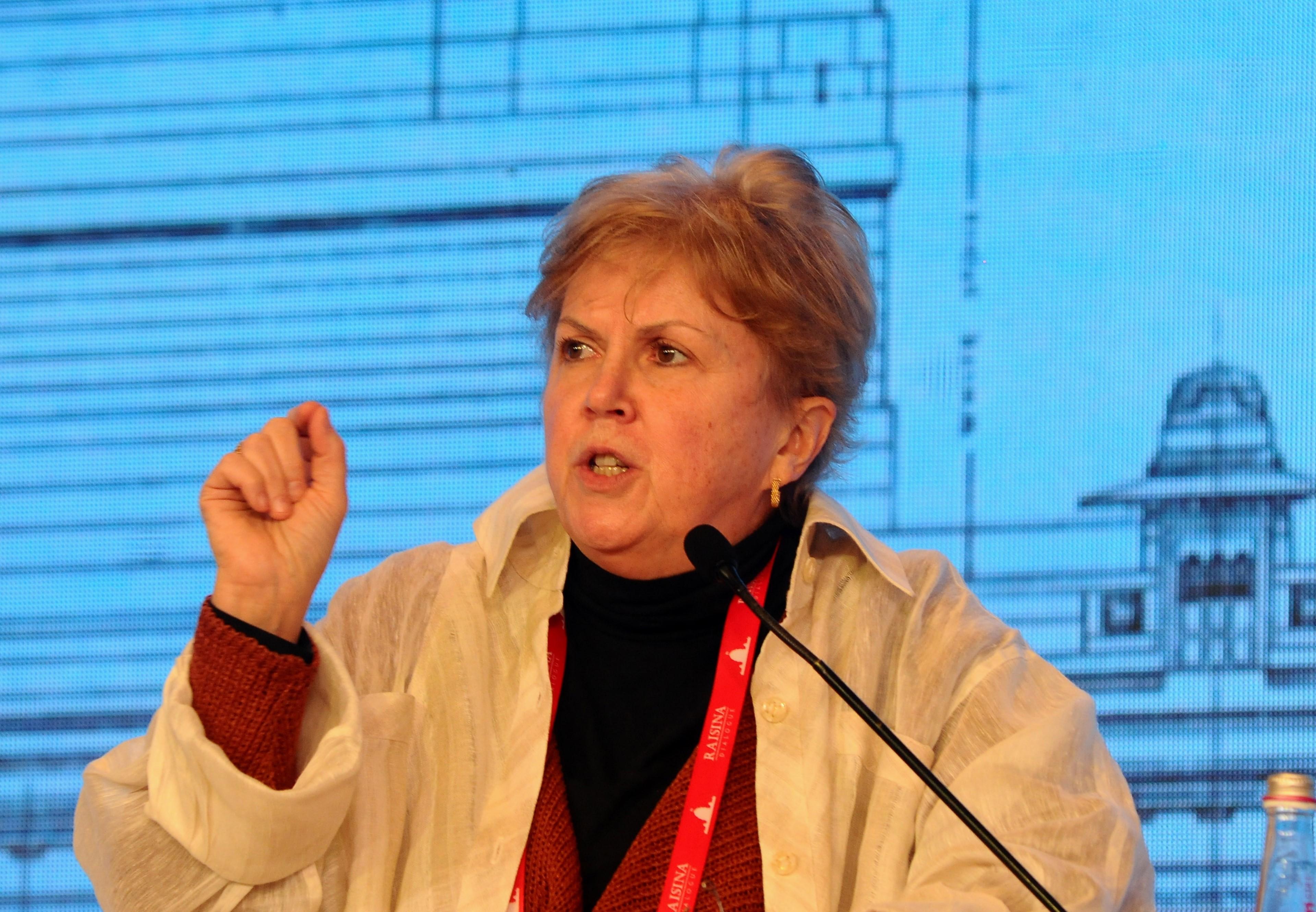 Η ειδική απεσταλμένη του ΓΓ του ΟΗΕ για το Κυπριακό, Τζέιν Χολ Λουτ